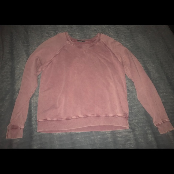 aerie Tops - Aerie Don't Ask Why Distressed Sweatshirt